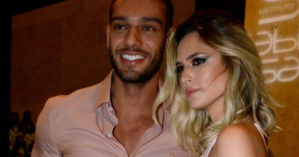 Lucas Lucco e Gabi Borges vão juntos a evento