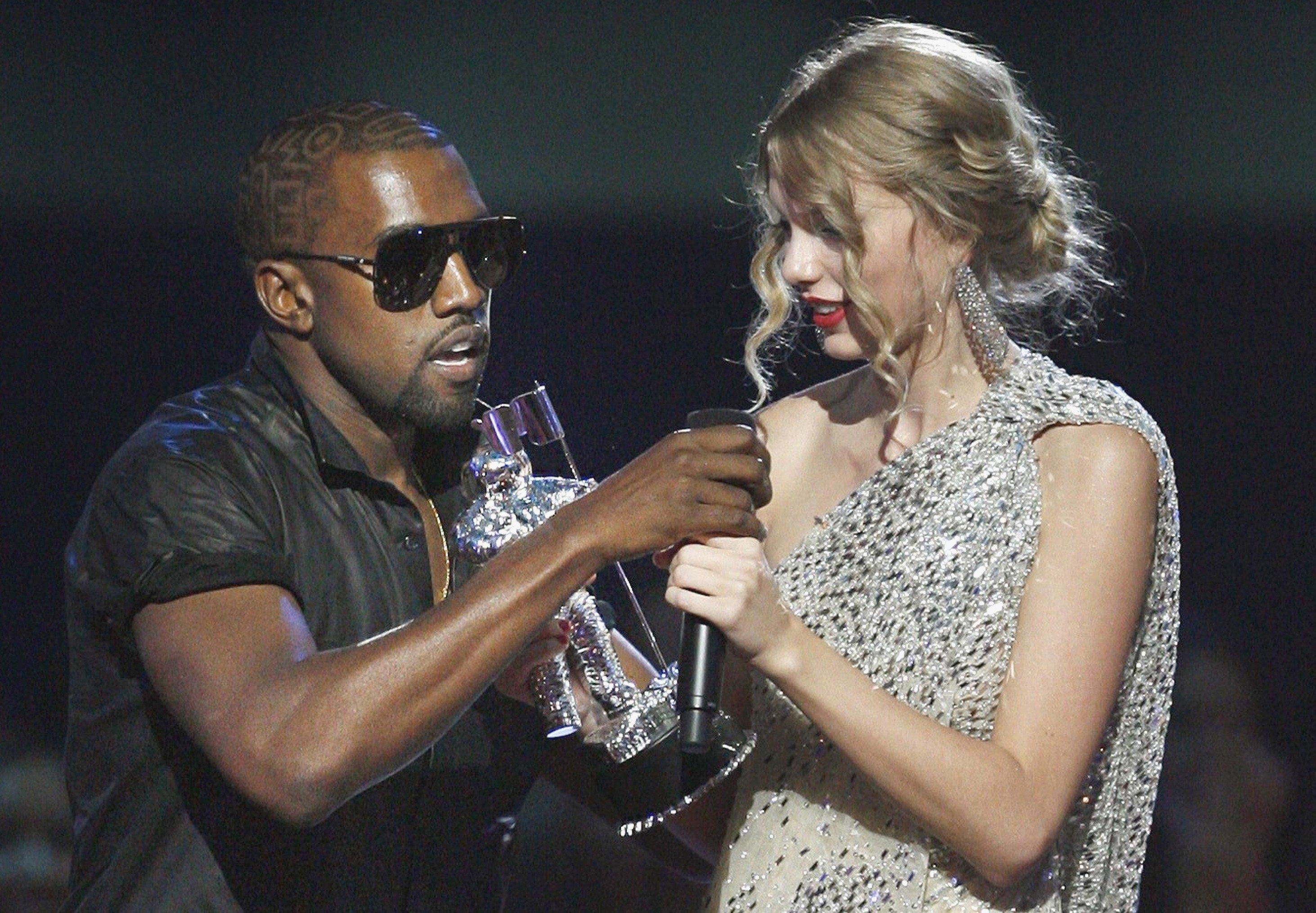 Taylor e Kanye já vivenciaram várias polêmicas