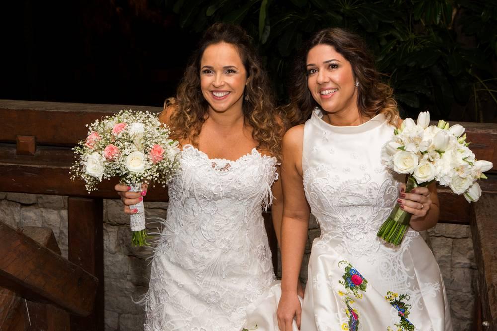 Daniela e Malu estão juntas desde 2013