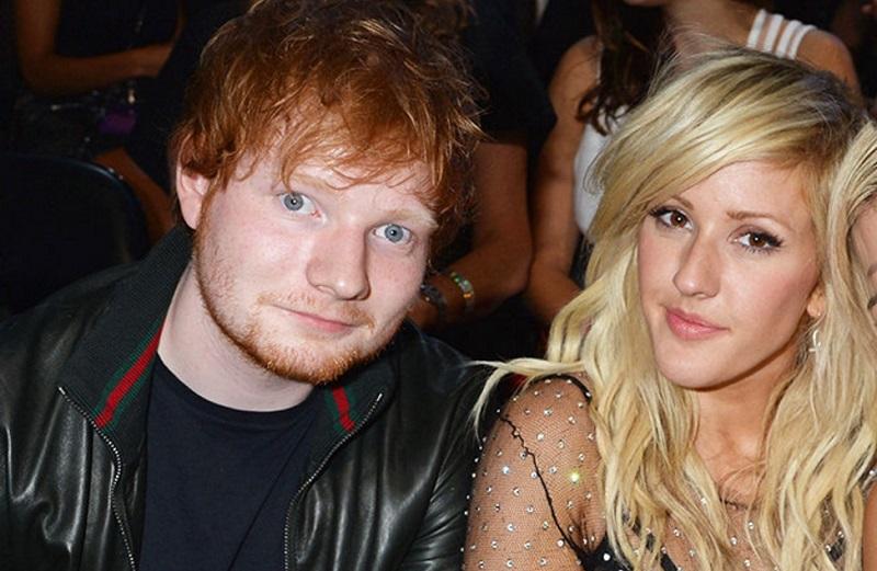 Ellie Goulding traiu Ed Sheeran com Niall Horan