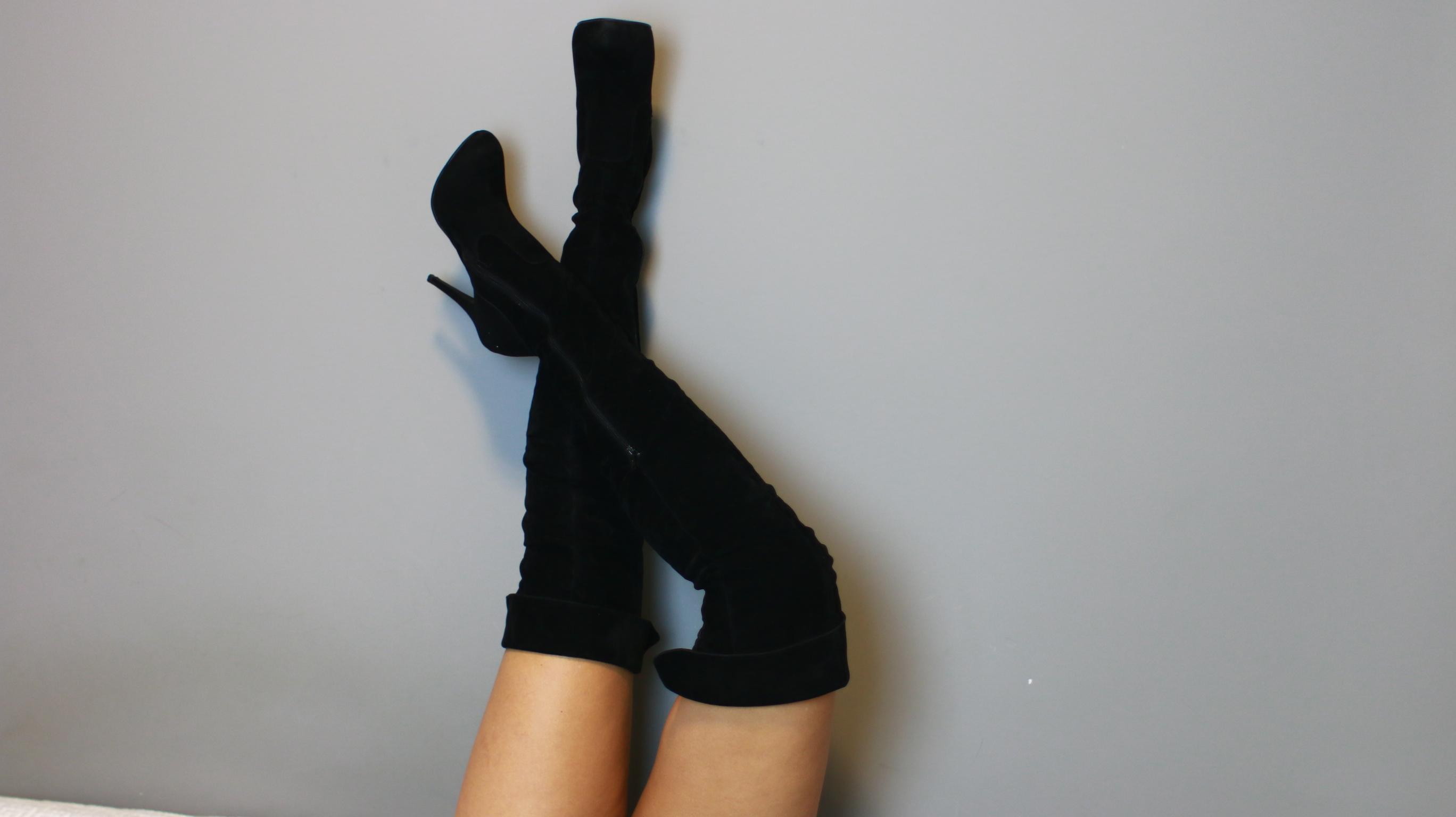 bb5c660c61 4 formas de usar botas OVER THE KNEE durante o inverno