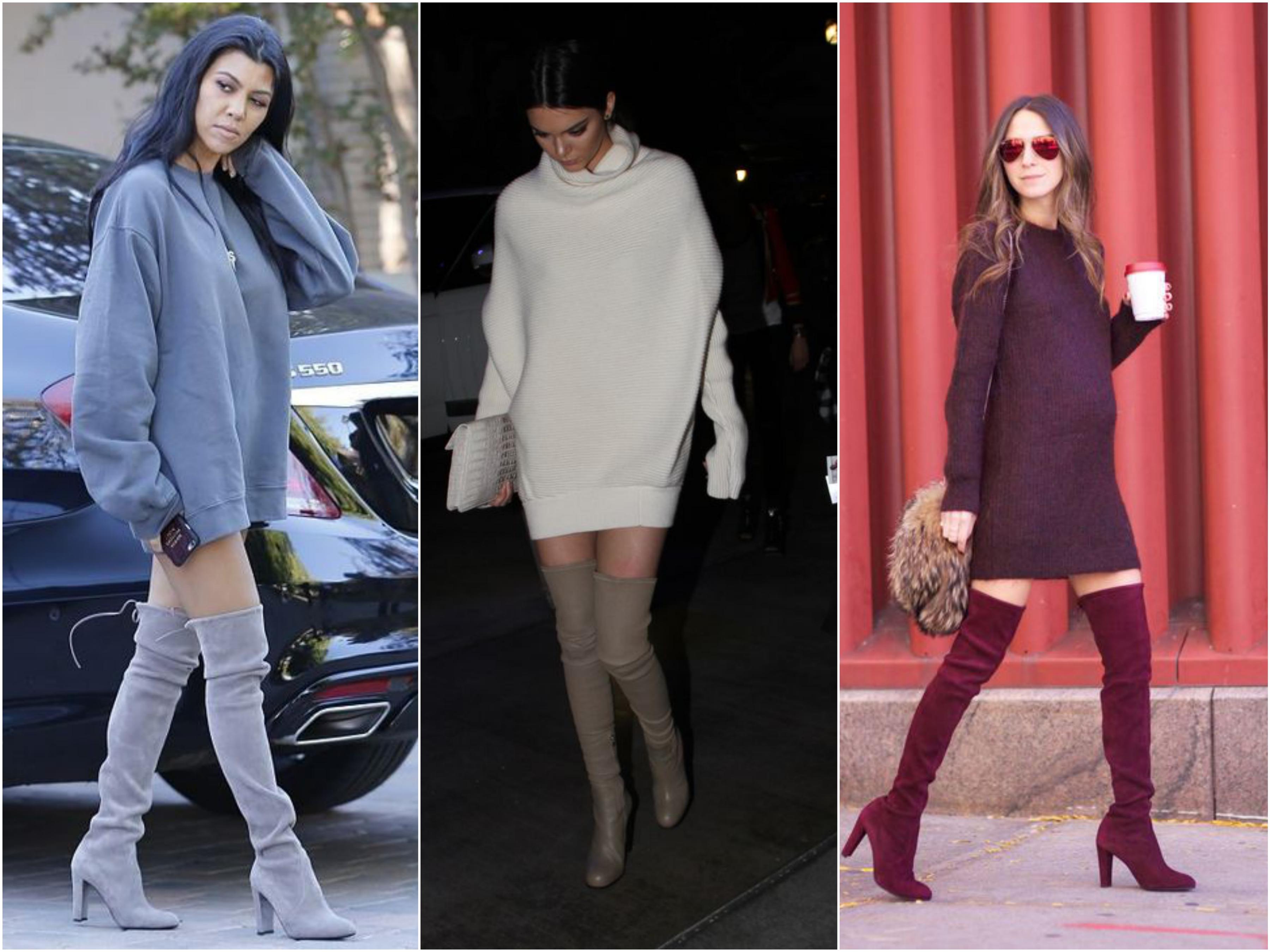4 Formas De Usar Botas Over The Knee Durante O Inverno Lovz