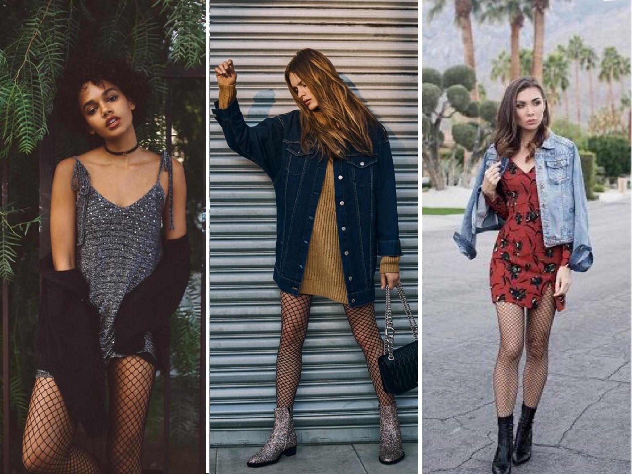 Peças mais femininas como vestido também combinam com a arrastão