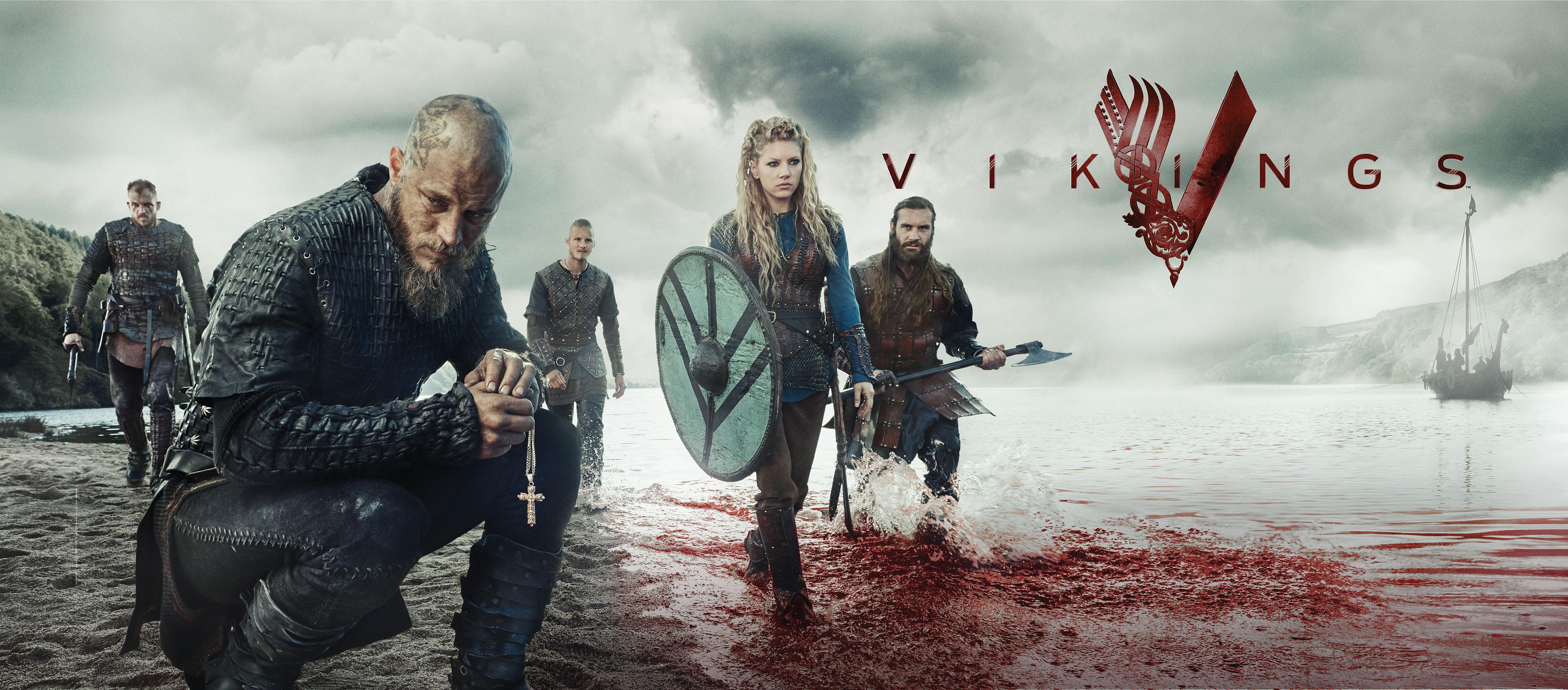 Vikings é uma aula de história sobre os nórdicos