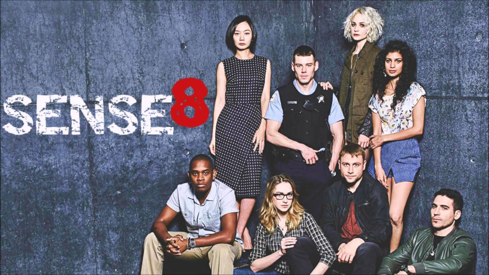 Sense 8 foi cancelada pela netflix após a segunda temporada