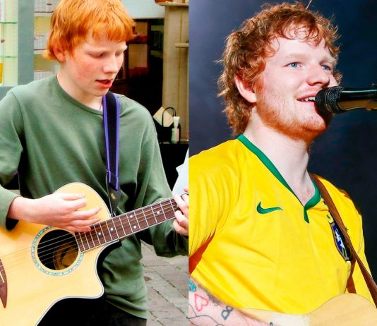 Ed Sheeran antes da fama