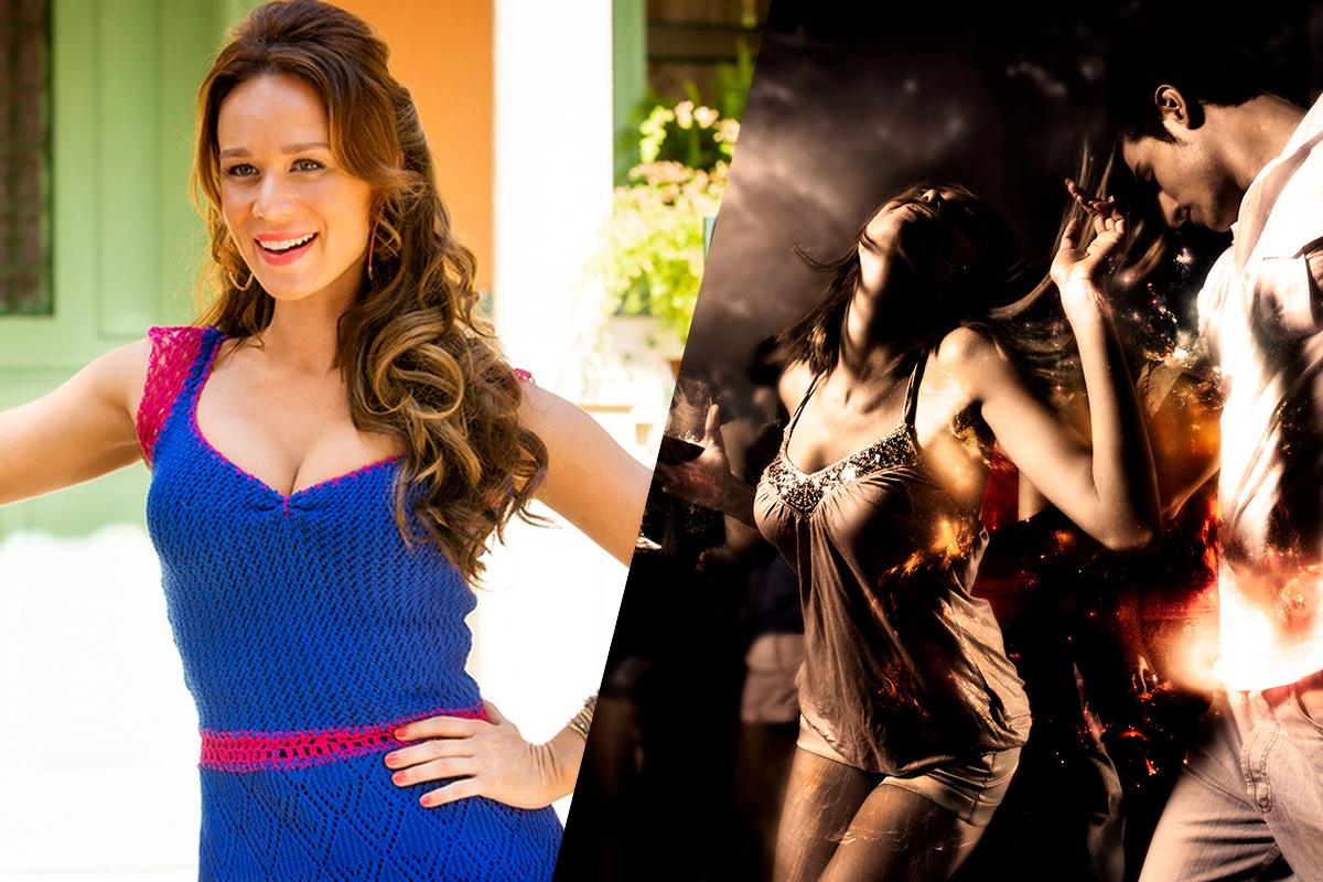 Mariana Ximenez adora dançar funk pancadão