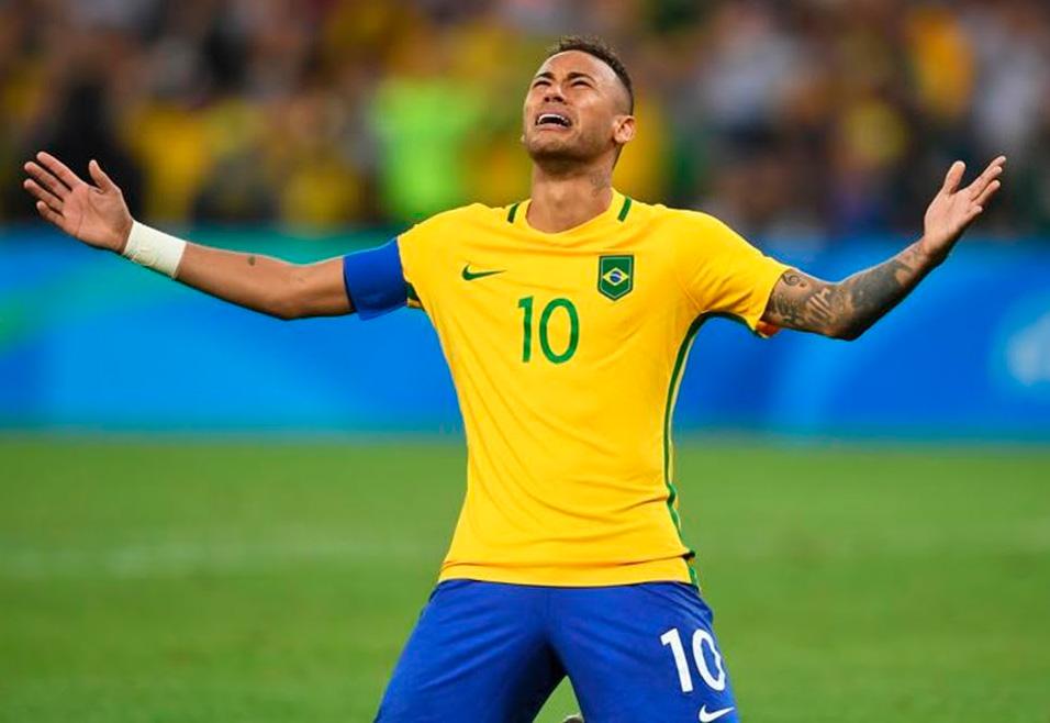 Medalha de Ouro: Neymar se consagra campeão da Rio 2016