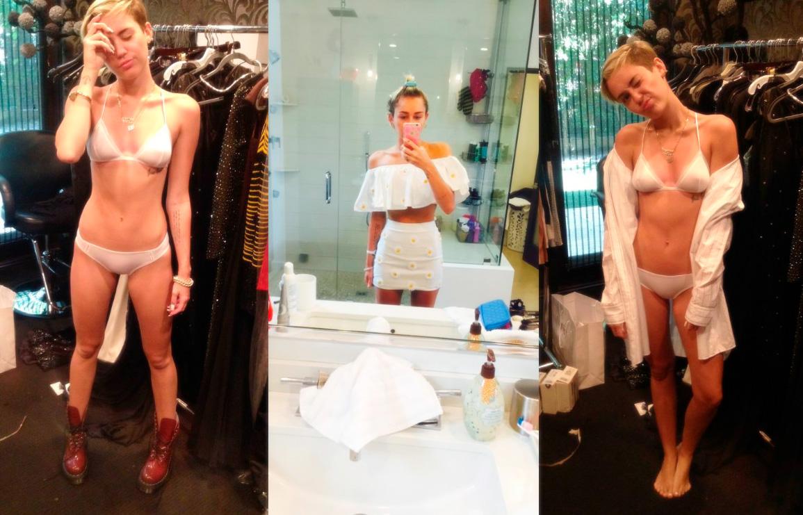 Miley Cyrus e a polêmica das fotos hackeadas