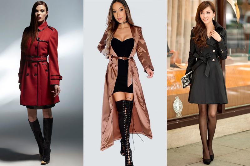 O Trench Coat é uma ótima pedida pra quem está buscando dicas de moda sexy para o inverno 2018