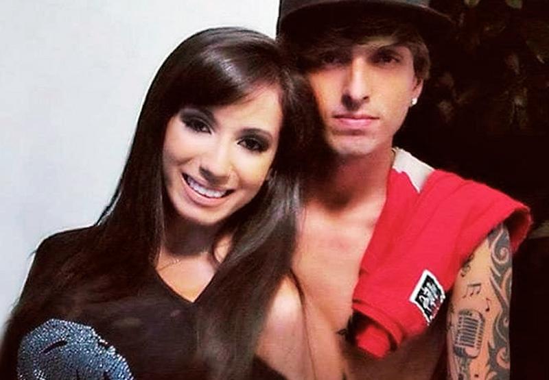 Anitta e seu namorado de 2012, Diego Villanueva, o Mr Thug do Bonde da Estronda