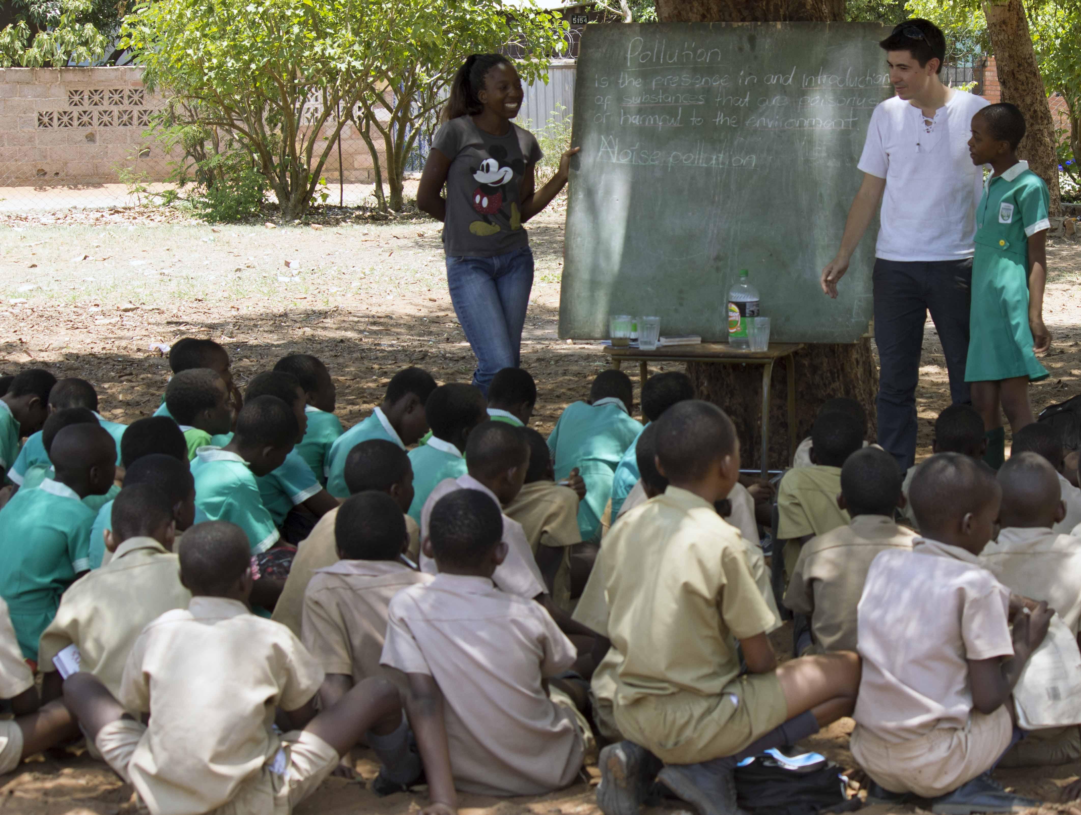 Lições que eu aprendi no meu voluntariado na África