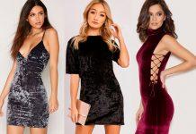 Dicas de Moda Sexy no Inverno: Vestidos de Veludo.